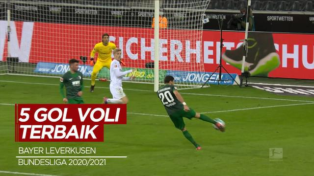 Berita Video 5 Gol Voli Terbaik di Bundesliga Musim Ini, Cek Torehan Pemain Bayer Leverkusen