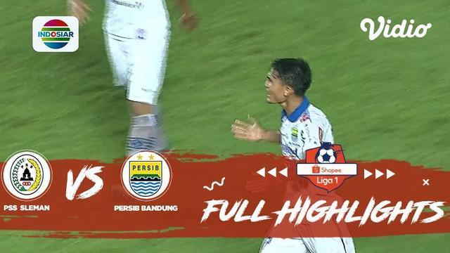 Berita video highlights Shopee Liga 1 2019 antara PSS Sleman melawan Persib Bandung yang berakhir dengan skor 0-0, Sabtu (7/12/2019).