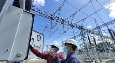 PT PLN (Persero) melalui Unit Induk Pembangunan (UIP) Sulawesi mempercepat pembangunan Saluran Udara Tegangan Tinggi (SUTT) 150 Kilovolt (kV) Kendari – Andoolo – Kasipute. Dok PLN