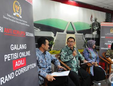 Dukung Pemberantasan Korupsi, DPR Bikin Petisi Online