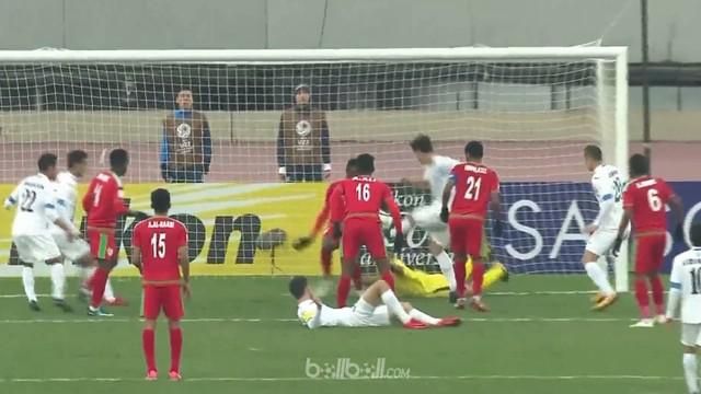 Berita video highlights Piala Asia U-23 2018, Uzbekistan vs Oman, dengan skor 1-0. This video presented by BallBall.