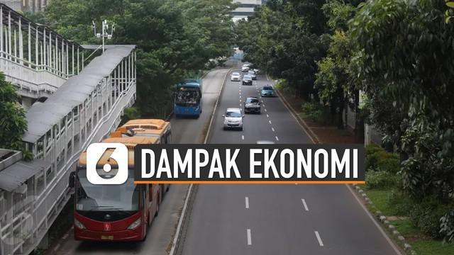 Wabah virus Corona membuat beberapa negara sudah membuat kebijakan lockdown. Hal ini juga berdampak di Indonesia terutama kota Jakarta. Tetapi jika lockdown ini dilakukan di Jakarta berpengaruh terhadap Ekonomi kota tersebut.
