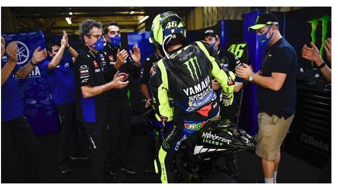 Valentino Rossi (Sumber:Instagram/yamahamotogp)