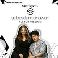 "Koleksi couture terbaru Sebastian Gunawan ""Fly For Freedom"""