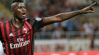 Striker AC Milan M'Baye Niang (REUTERS/Max Rossi)