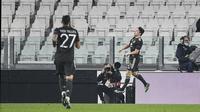 Daniel James mengunci kemenangan MU lewat gol yang ia ciptakan pada menit ke-90. (Foto: AP/LaPresse/Marco Alpozzi)