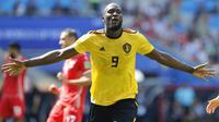 3. Romelu Lukaku (Belgia) - 4 Gol. (AP/Hassan Ammar)