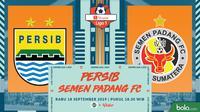 Shopee Liga 1 - Persib Bandung Vs Semen Padang FC (Bola.com/Adreanus Titus)