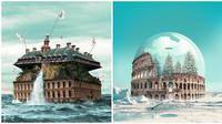 Karya Seni Digital Seniman Bak Jepretan Kamera. (Sumber: Boredpanda)