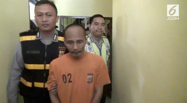 Seorang pria di Sukabumi menjadi predator seks dengan melakukan pelecehan terhadap 12 anak baik laki-laki maupun perempuan.
