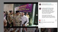 Gubernur DKI Jakarta Anies Baswedan bersyukur dikunjungi oleh Gus Miftah di Balai Kota. (Instagram @aniesbaswedan)