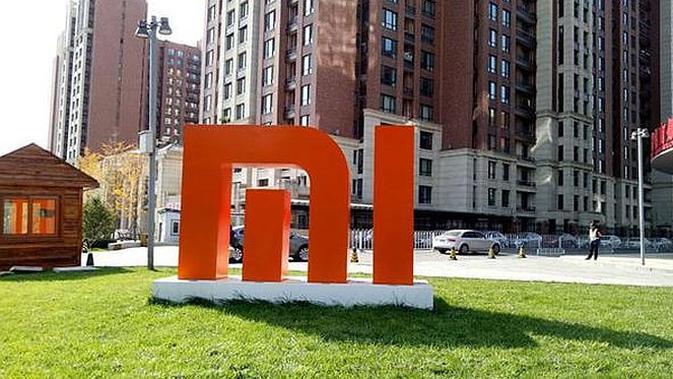 Logo Xiaomi (Foto: Agustin Setyo Wardani / Liputan6.com)