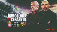 BARCELONA VS ESPANYOL (Liputan6.com/Abdillah)