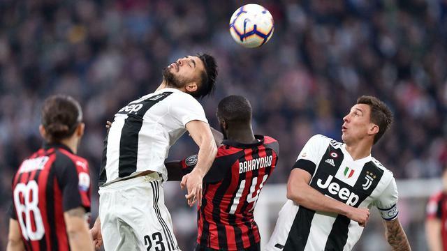 Gelandang AC Milan, Tiemoue Bakayoko.