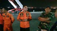 SAR Balikpapan mempersiapkan evakuasi korban MV Cape India (Abelda Gunawan/Liputan6.com)