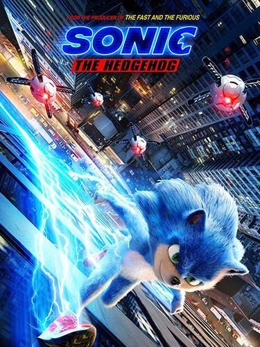 Poster film Sonic The Hedgehog. (Foto: Dok. IMDb/ Paramount Pictures)