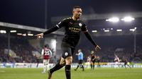 Gabriel Jesus Dua Gol, City Hajar Burnley (AP)