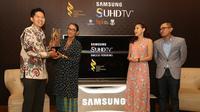 Di penghujung 2015, Samsung mewujudkan komitmennya dengan mendukung Festival Film Indonesia (FFI) 2015 bertema 'Kita Bangga Film Indonesia'