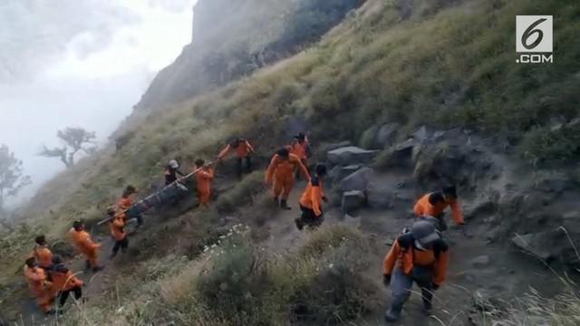 1 WNA Malaysia dan1 warga Makassar meninggal dunia di Gunung Rinjani akibnat Gempa Lombok