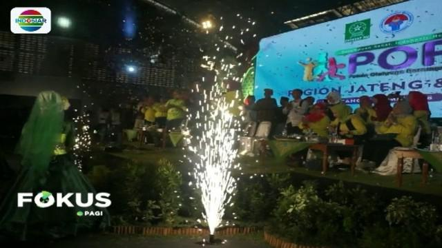 Menpora Imam Nahrawi resmikan Pekan Olahraga Perempuan tingkat Jawa Tengah dan Daerah Istimewa Yogyakarta.