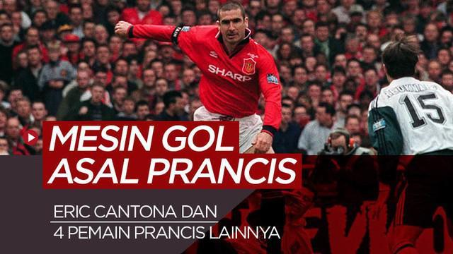 Berita motion grafis 5 penyerang Prancis haus gol di Liga Inggris, Eric Cantona di posisi kelima?