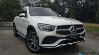 PT Mercedes-Benz Indonesia merilis new GLC 200 yang merupakan rakitan lokal di pabrik Wanaherang, Bogor, Jawa Barat. (Oto.com)