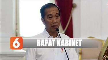 Sidang kabinet ini dipimpin langsung oleh Presiden Joko Widodo dan diawali dengan pidato pengarahan dari presiden.
