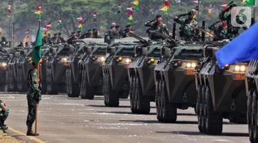 Deretan Alutsista Dipamerkan di HUT ke-74 TNI