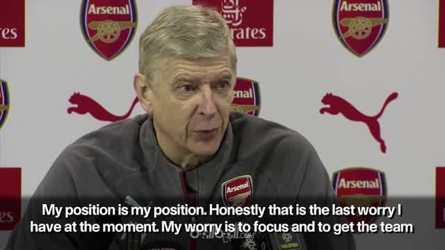 Berita video Arsene Wenger yang terpancing emosi di konferensi pers soal masa depannya di Arsenal. This video presented by BallBall.