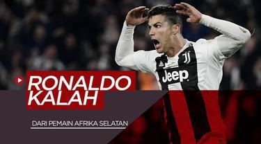 Berita video momen Cristiano Ronaldo kalah dalam torehan jumlah gol pada musim 2006-2007 dari striker asal Afrika Selatan, Benni McCarthy.
