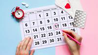 ilustrasi tanggal siklus menstruasi/copyright By E.Va (Shutterstock)