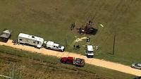 Kecelakaan balon udara di Texas. (Reuters)