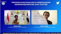 Kemendikbudristek dan Twitter Edukasi Penggunaan Media Sosial. Dok: Twitter Indonesia