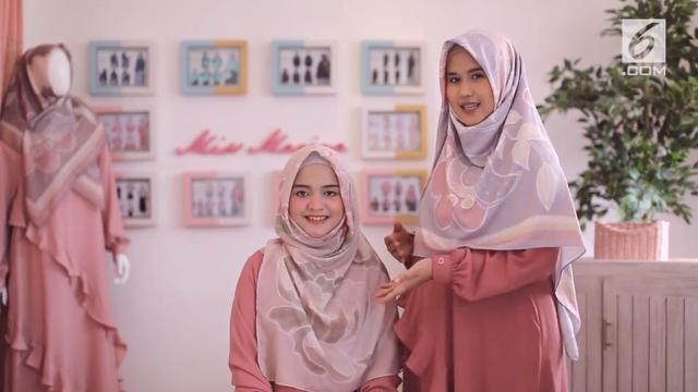 Hijabpedia Tutorial Hijab Menutup Dada Untuk Rayakan Lebaran Fashion Beauty Liputan6 Com
