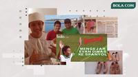 Petualangan Evan Dimas. (Bola.com/Dody Iryawan)