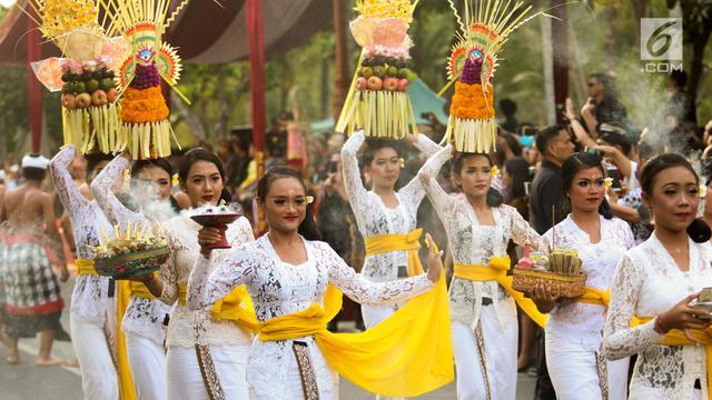 Karnaval Budaya Bali Meriahkan Pertemuan tahunan IMF-World Bank Group 2018