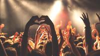 Ilustrasi konser musik. (dok. Pixabay)