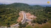 Pembangunan jaringan jalan Manado-Bitung-Likupang oleh Kementerian PUPR (dok: PUPR)