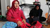 Ressy Chandra Puspita, pelapak Bukalapak asal Yogyakarta. Liputan6.com/Andina Librianty