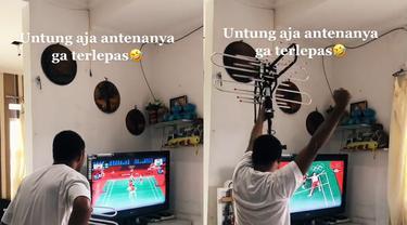Antusias masyarakat Indonesia tonton final Greysia/Apriyani.