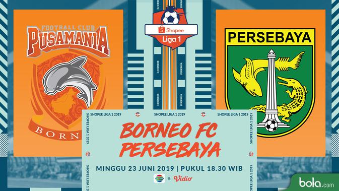 Eksklusif Live Streaming Shopee Liga 1 di Indosiar: Borneo FC Vs Persebaya 2