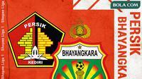 Shopee Liga 1 - Persik Kediri Vs Bhayangkara FC (Bola.com/Adreanus Titus)