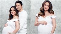 Pemotretan Maternity Shoot Tengku Dewi dan Andrew Andika (Sumber : Instagram.com/tengkudewiputri_tdp)