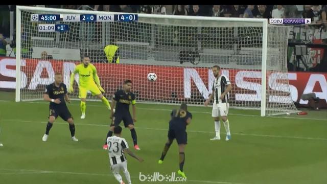 Gol Dani Alves dalam laga Juventus kontra AS Monaco, jadi salah satu yang terindah di Liga Champions. This video presented by Ballball.