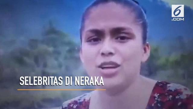 Seorang wanita mengaku mati suri dan sempat melihat sosok selebritas di neraka.