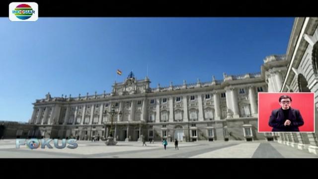 Salah satunya ada di Kota Madrid, yaitu Royal Palace of Madrid. Royal Palace of Madrid menjadi istana termegah di Benua Eropa.