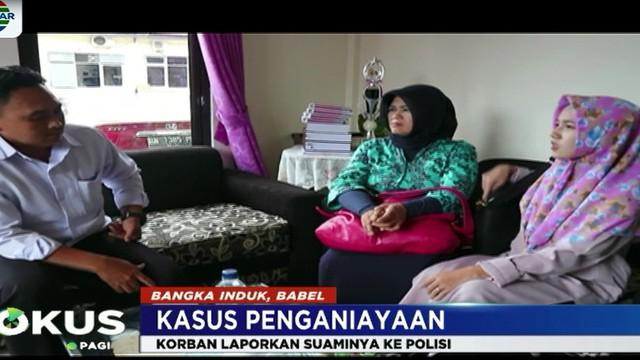 Dalam laporan tersebut, Ica mengaku sejak menjadi istri Sumantri dua tahun lalu, dia kerap mendapat perlakuan kasar dari suaminya.