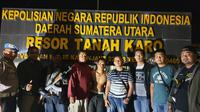 PRN (25) saat ditangkap di Tanah Karo (Rino Abonita/Liputan6.com)