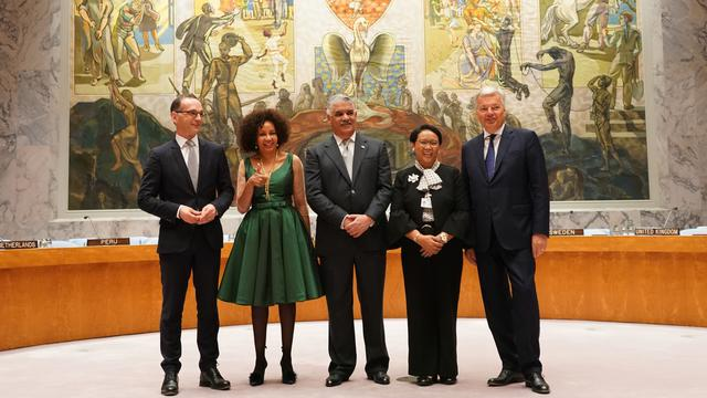 Ekspresi Menlu Rini Usai Indonesia Terpilih Menjadi Anggota Tidak Tetap DK PBB