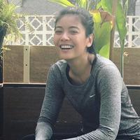 Sigi Wimala persiapkan diri lari marathon (Instagram/sigiwimala)